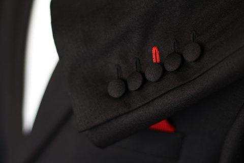 Details Veste Nombre de boutons, orientation des poches,…