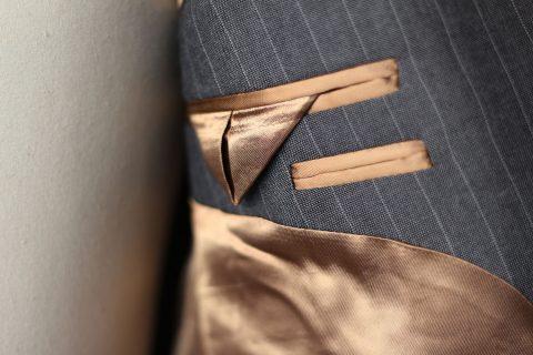 Choix de la doublure Étoffe (coton, soie,…),